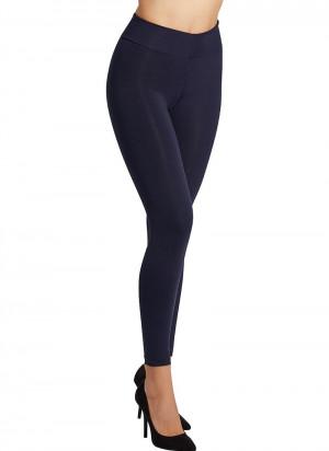 Dámské kalhoty s push-up efektem 70210 - Ysabel Mora tmavě modrá