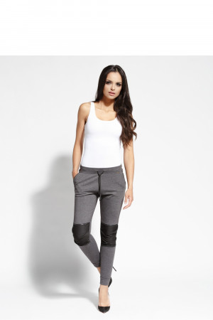 Teplákové kalhoty 077 - Dursi  tmavě šedá
