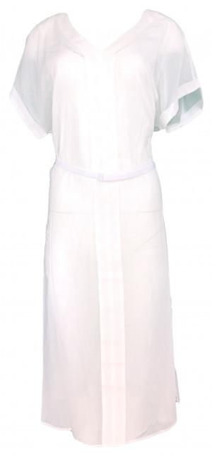 Plážové šaty KW0KW00715-143 bílá - Calvin Klein bílá