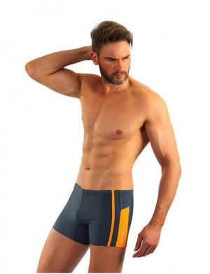 Pánské plavky boxerky Sesto Senso 364 černá