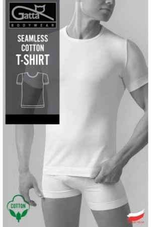 Gatta t-shirt 2409s bílé Pánské tričko S bílá