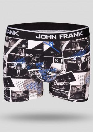 Pánské boxerky John Frank JFBD206 L Dle obrázku