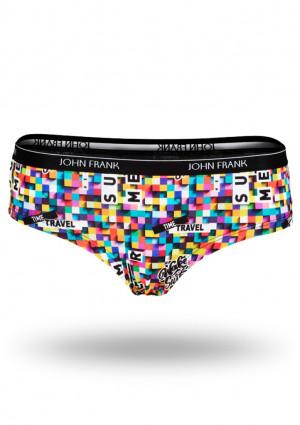 Dámské kalhotky hipster John Frank WJFD-H11 M Dle obrázku