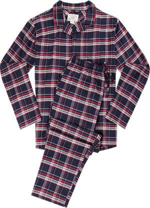 Pánské pyžamo 563002 - Jockey modrá/ káro