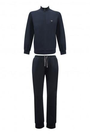 Pánské pyžamo 111795 CC570 00135 modrá - Emporio Armani modrá