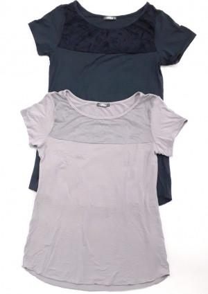 Dámské tričko Cotonella GD257 L Tm. modrá