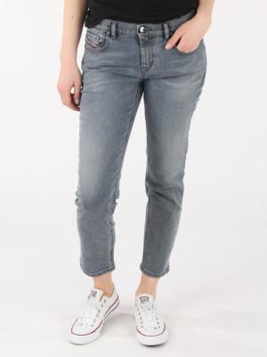 Džíny Diesel Belthy-Ankle-D L.32 Pantaloni Modrá
