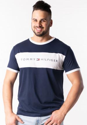 Pánské tričko Tommy Hilfiger UM0UM01170 L Tm. modrá