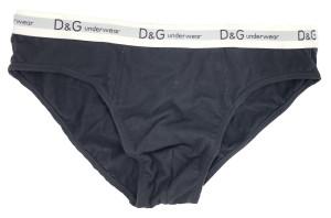 Pánské slipy DGBSN8S231 černá - Dolce & Gabbana černá