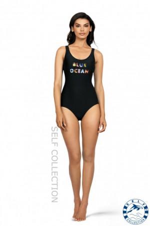 Dámské plavky Hollywood S8900F19 - Self tyrkysová