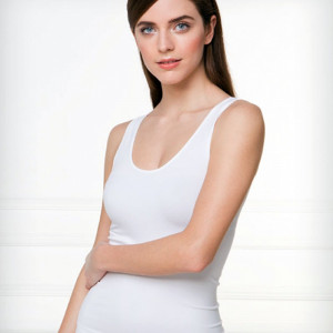 Bezešvá košilka Bellissima 053  L/XL Bílá