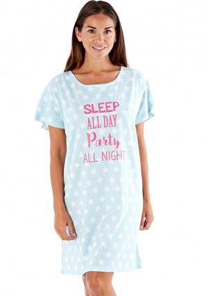 Noční košilka Fordville LN000757 Party  UNI Světle modrá