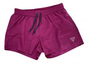 Pánské šortky F92T13WO02O fialovorůžová - Guess fialovorůžová
