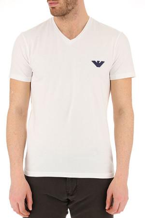 Pánské tričko 111556 9P525 bílá - Emporio Armani bílá