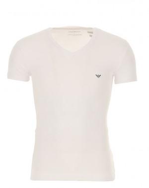 Pánské tričko 110810 9P745 bílá - Emporio Armani bílá