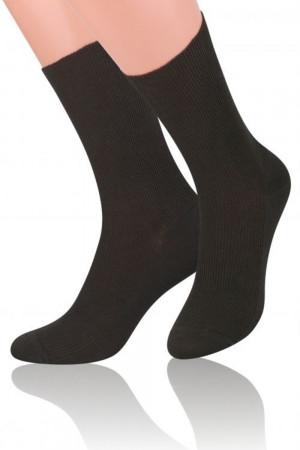 Pánské ponožky 018 brown hnědá 39/42