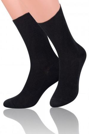 Pánské ponožky 018 black černá 39/42