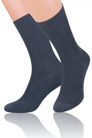Pánské ponožky 018 graphite grafitová 39/42