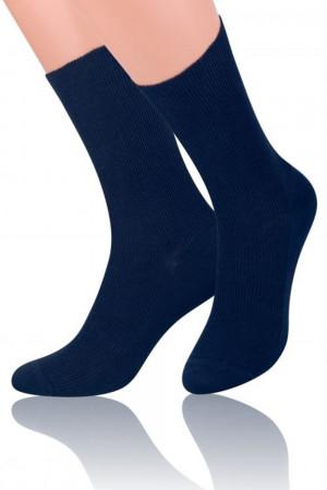 Pánské ponožky 018 dark blue tmavě modrá 39/42