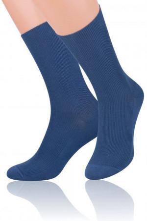 Pánské ponožky 018 jeans džínová 39/42