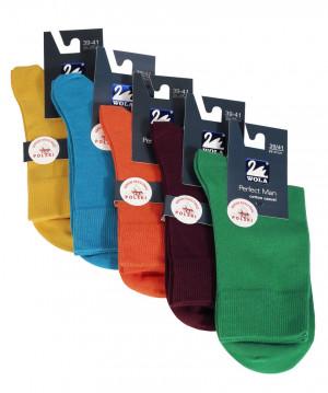 Hladké pánské ponožky PERFECT MAN - CASUAL