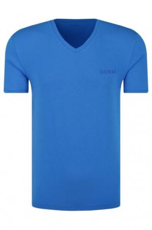 Pánské tričko U92M07JR041 modrá - Guess modrá