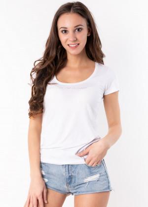 Dámské tričko Emporio Armani 163377 9P263 L Bílá
