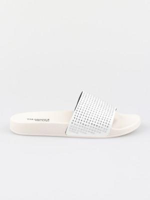 Pantofle Trussardi Slipper Pu Strass Crystal Color Béžová