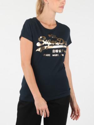 Tričko Superdry Vintage Logo Metalwork Entry T Modrá