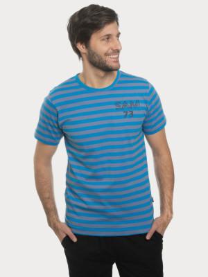 Tričko SAM 73 MTSN388 Modrá