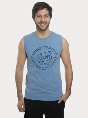 Tričko SAM 73 MTSN409 Modrá