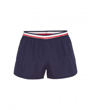 Dámské šortky UW0UW01710-428 modrá - Tommy Hilfiger modrá