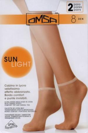 Ponožky SUN LIGHT 2P černá uni velikost