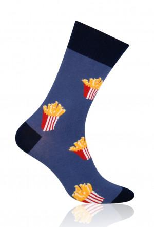 Pánské ponožky More Fastfood 079 jeans 39-42