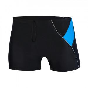 Pánské plavky 933-2019 černo-modrá