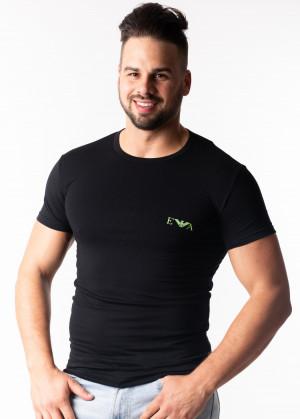 Pánské tričko Emporio Armani 111670 9P715 Z L Černá