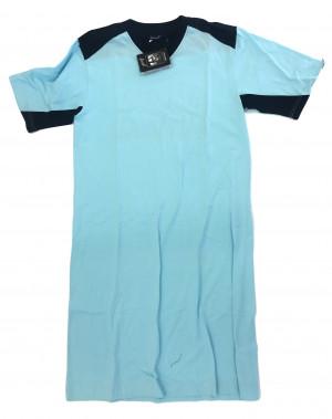 Pánská noční košile Limo - Favab tyrkys - modrá