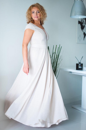 Dlouhé šaty  model 132934 Jersa