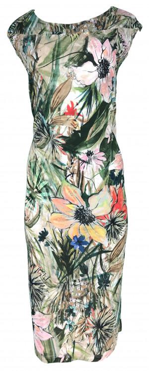 Dámské šaty Zafirka barevná - Favab barevná
