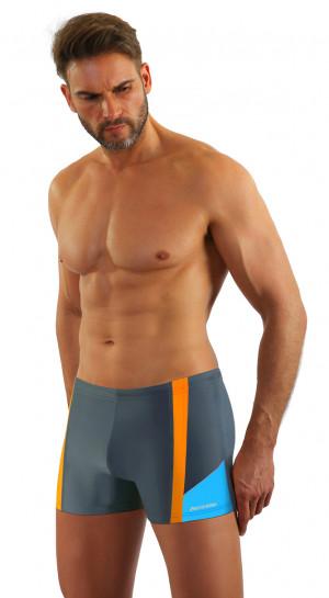 Pánské plavky - boxerky BD 379 tmavě modrá 2XL