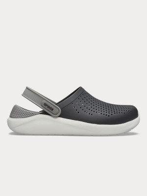 Sandály Crocs LiteRide Clog Black/Smoke Černá