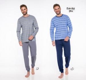 Pánské pyžamo - dlouhé 372 MAX L-2XL 2019-2020 J