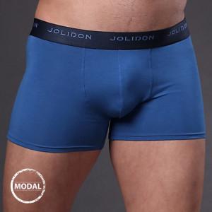 Pánské boxerky JOLIDON Silk Touch Blue modrá