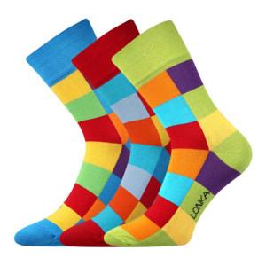 3 pack ponožek Decube Mix A barevná 48-51