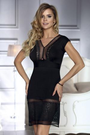 Luxusní košilka Mara černá