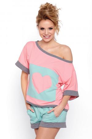 Dámské pyžamo Natalia růžová