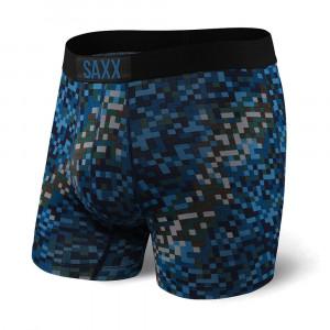 Pánské boxerky SAXX Vibe Ocean Camo barevná