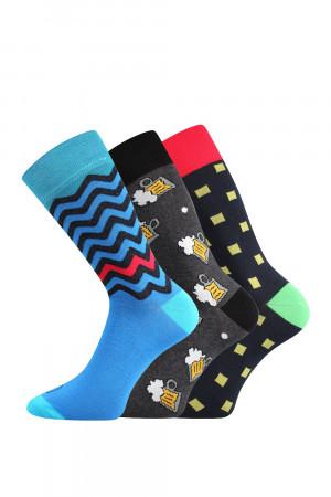 3 pack pánských ponožek Tod barevná 39-42