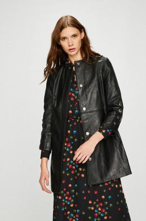 Trussardi Jeans - Kožený kabát
