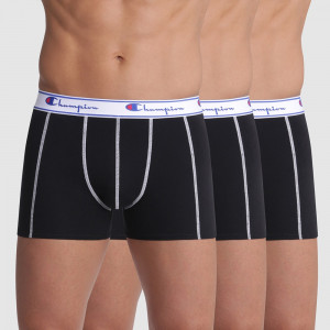 3 pack pánských boxerek CHAMPION černá